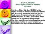 o u g nr 194 2002 privind regimul str inilor n rom nia republicat