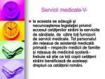 servicii medicale v
