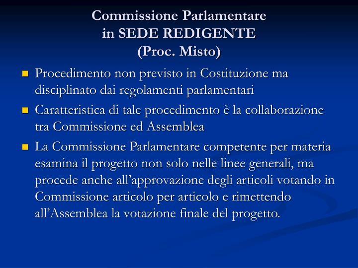 Commissione Parlamentare