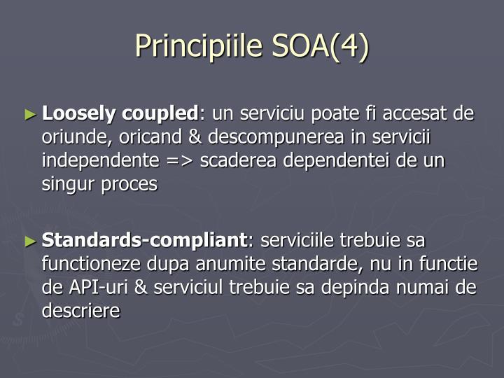 Principiile SOA(4)