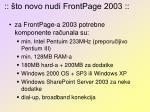to novo nudi frontpage 2003
