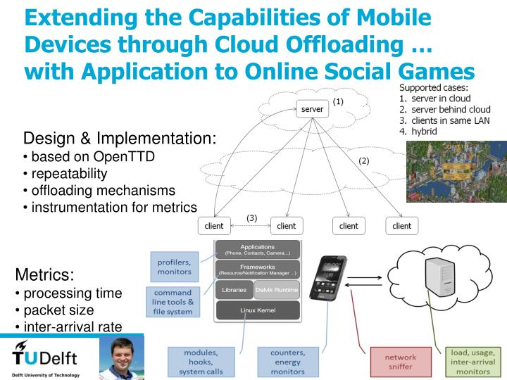 Extending the Capabilities of Mobile Devices through Cloud Offloading
