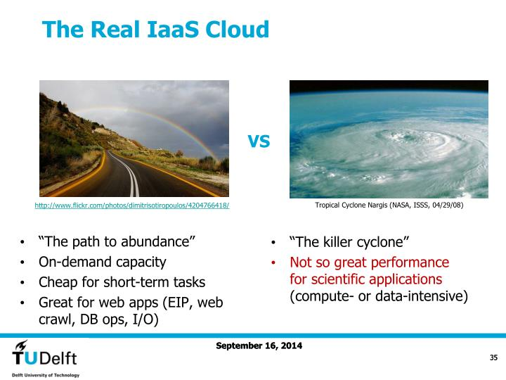The Real IaaS Cloud