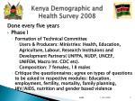kenya demographic and health survey 2008