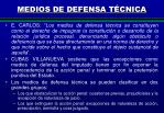 medios de defensa t cnica