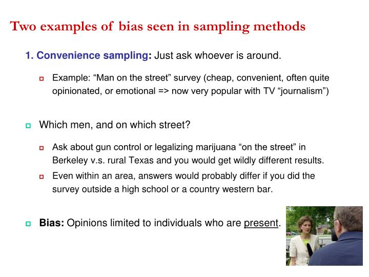 Ppt Bias Anecdotes Randomization And More Powerpoint