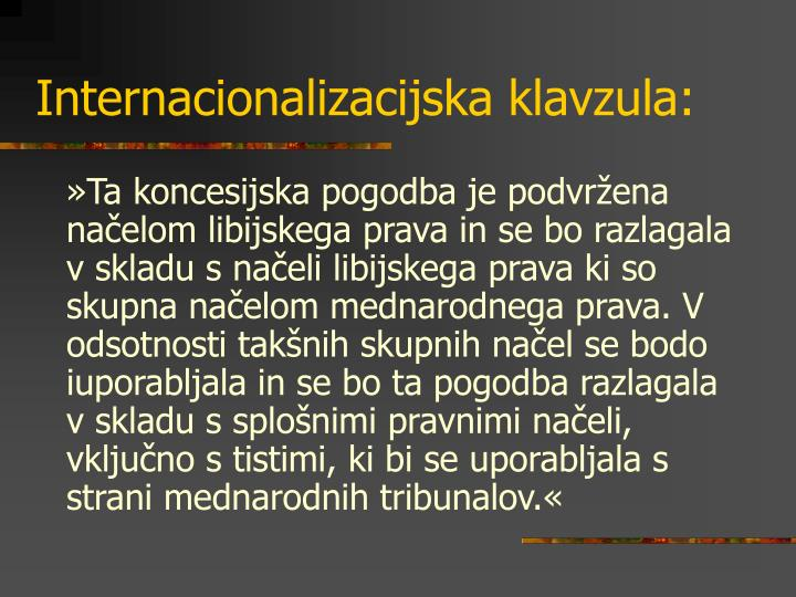 Internacionalizacijska klavzula: