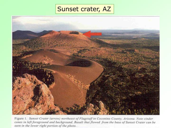 Sunset crater, AZ
