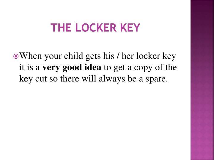 The Locker Key