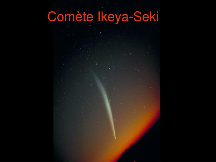 Comète Ikeya-Seki