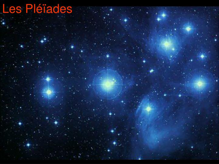 Les Pléïades