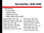 the cold war 1945 19901