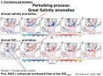 perturbing process great salinity anomalies
