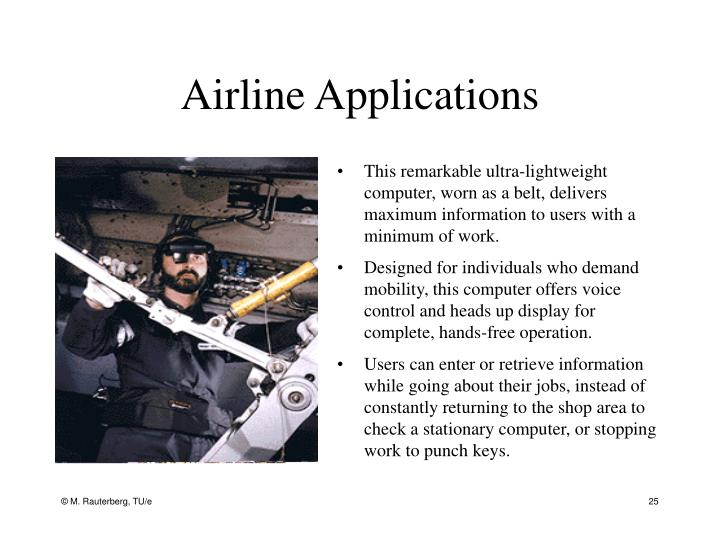 Airline Applications