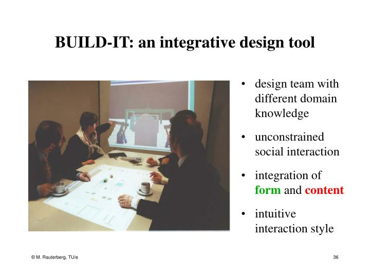 BUILD-IT: an integrative design tool