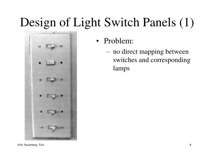Design of Light Switch Panels (1)