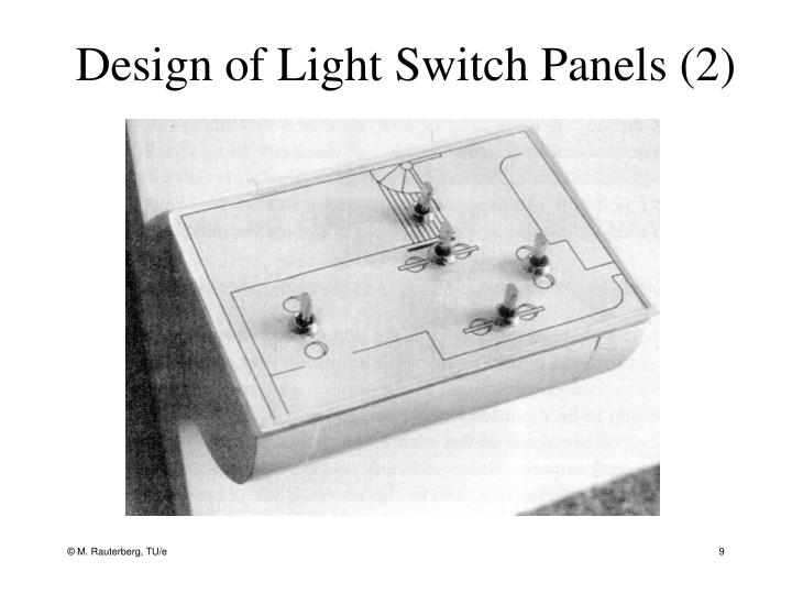 Design of Light Switch Panels (2)