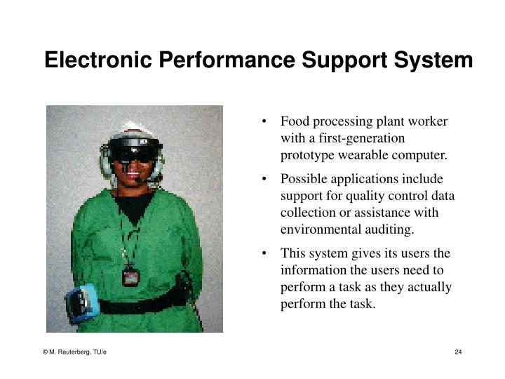 Electronic Performance Support System