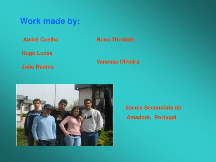Work made by: