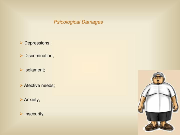 Psicological Damages