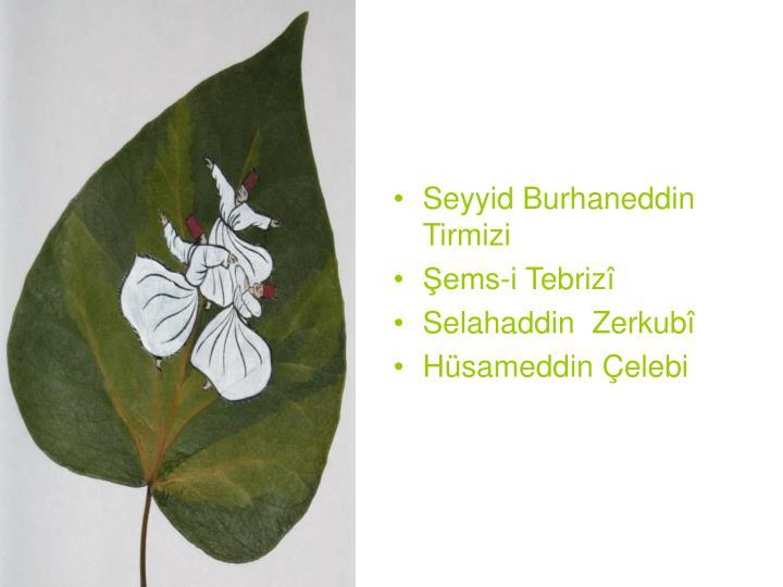 Seyyid Burhaneddin Tirmizi