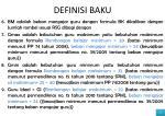 definisi baku1