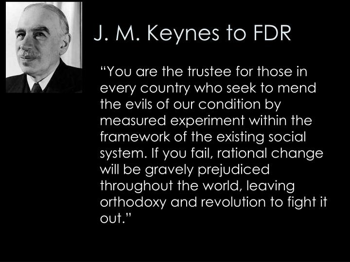 Image result for keynes and FDR
