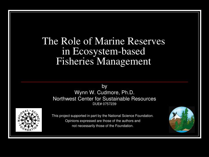 controversial role of marine protected areas in fisheries management essay Growth in marine protected areas, fisheries management, the blue economy, and marine spatial planning initiatives are occurring both within and beyond national jurisdictions this mounting activity has coincided with increasing concerns about sustainability and international attention to ocean governance.