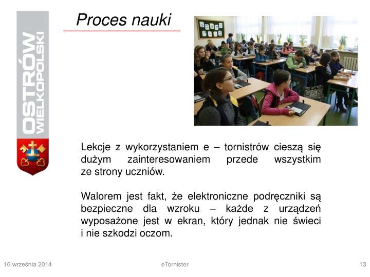 Proces nauki