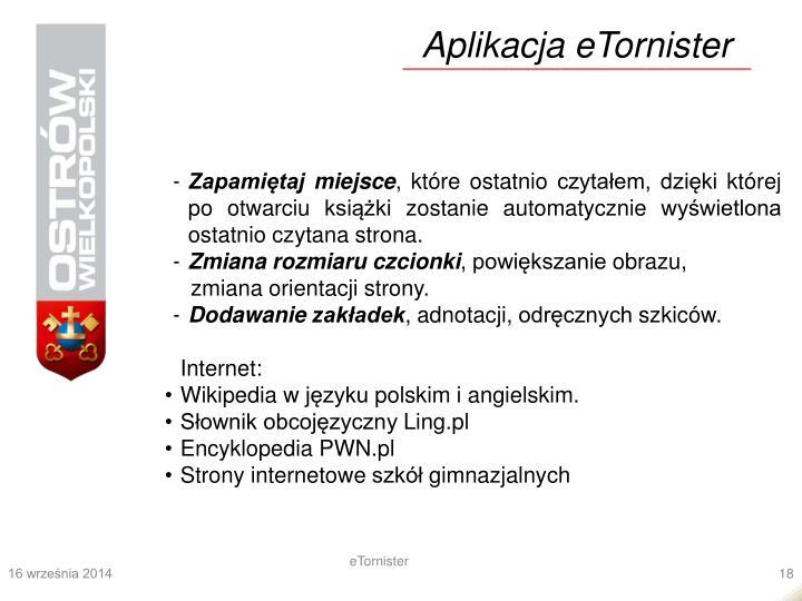 Aplikacja eTornister