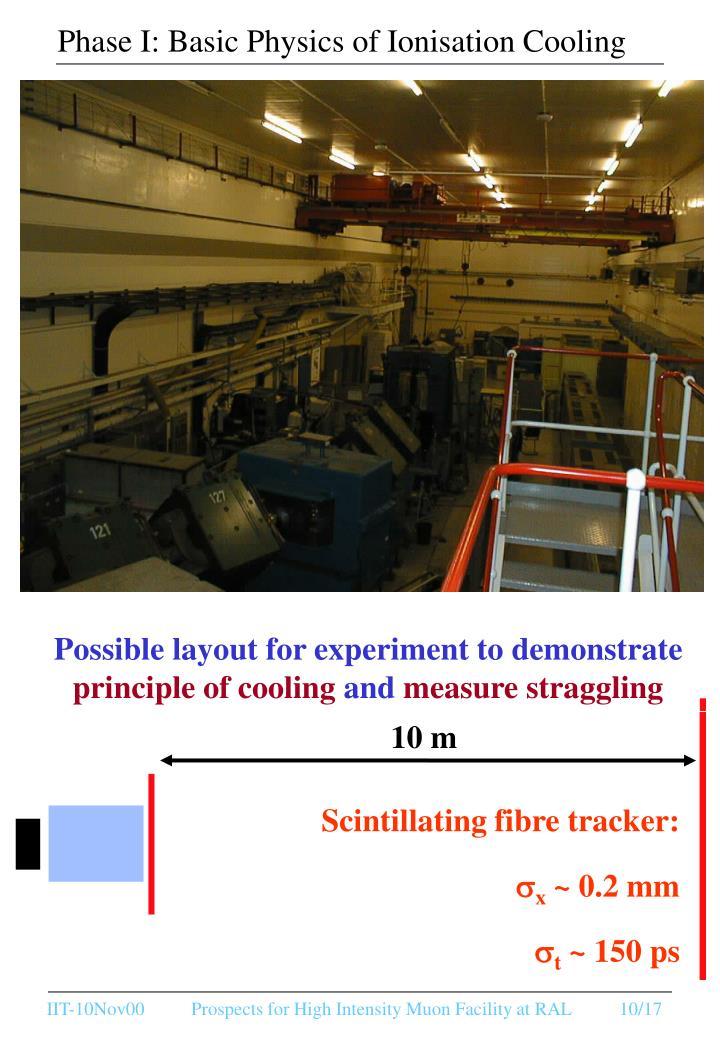 Phase I: Basic Physics of Ionisation Cooling