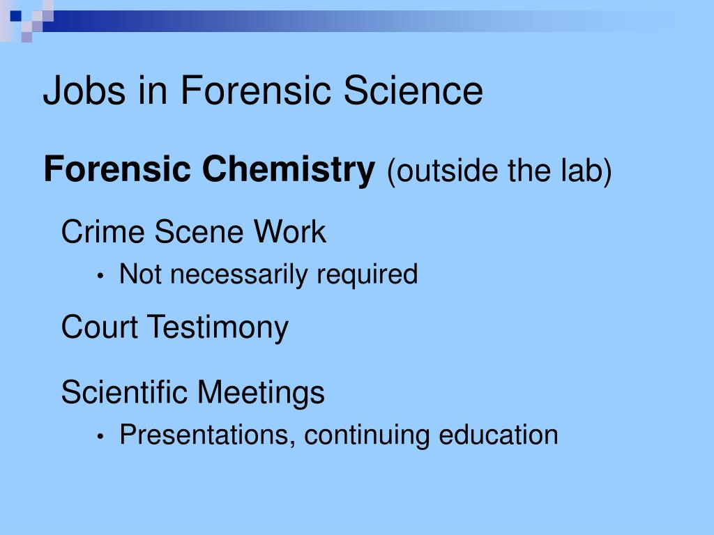 Ppt Forensic Science Education Powerpoint Presentation Free Download Id 4474493