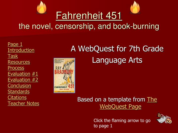 fahrenheit 451 book burning essay Art and fahrenheit 451 art and fahrenheit 451 the art of burning books fahrenheit 451 is a book that at first glance  get a custom essay sample written according.