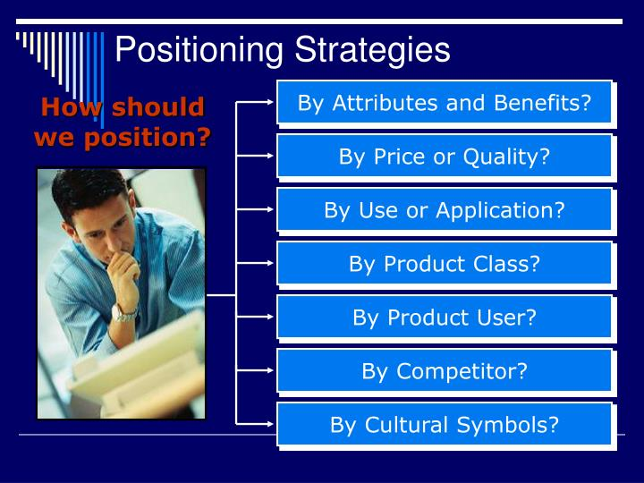 positioning strategy of taj Positioning refers to the place that a brand occupies in the mind of the customer and how it is distinguished from products from competitors in order to position products or brands, companies may emphasize the distinguishing features of their brand.