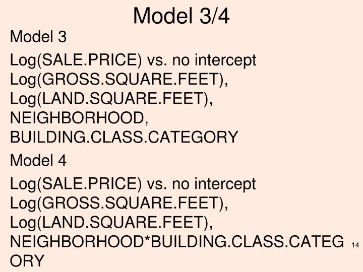 Model 3/4