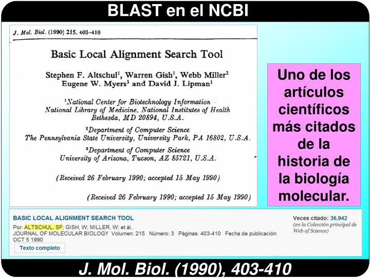 Uno de los artículos científicos más citados de la historia de la biología molecular.
