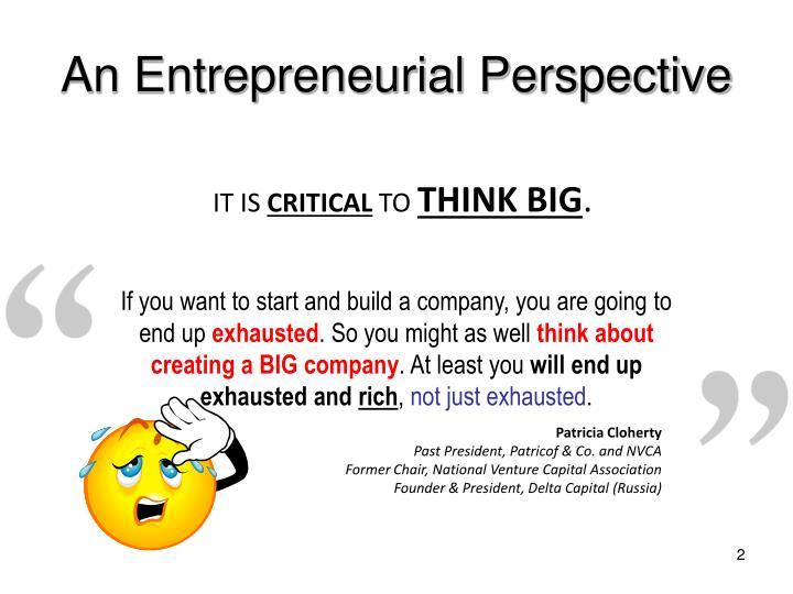 OM-Entrepreneurial Personal PPT Presentation. BACK TO PORTFOLIO
