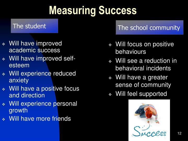 Will have improved academic success