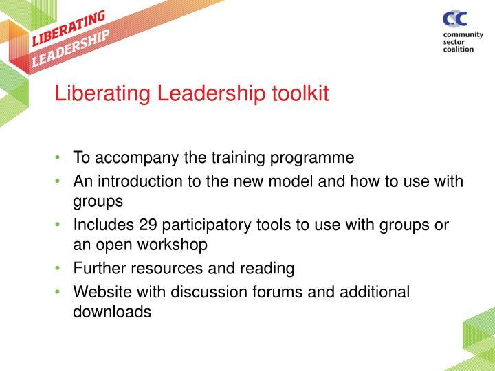 Liberating Leadership toolkit