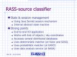 rass source classifier1