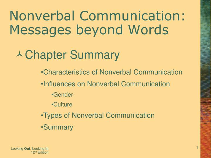 gender communication chapter 5 and 6