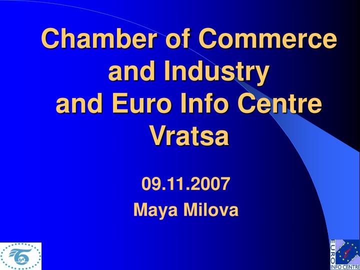 chamber of commerce and industry and euro info centre vratsa n.
