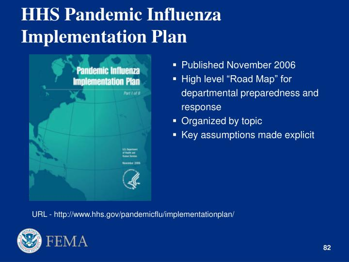 HHS Pandemic Influenza Implementation Plan