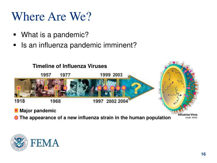 Timeline of Influenza Viruses