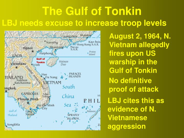 the gulf of tonkin Help spread this video: rate it, comment on it, favorite it, share it a false flag attack or in this case just a complete lie.