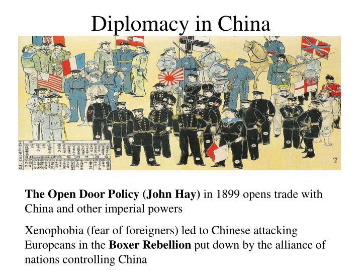 open door policy john hay. Diplomacy In China. The Open Door Policy (John Hay) Open Door Policy John Hay