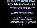 1917 selective service act