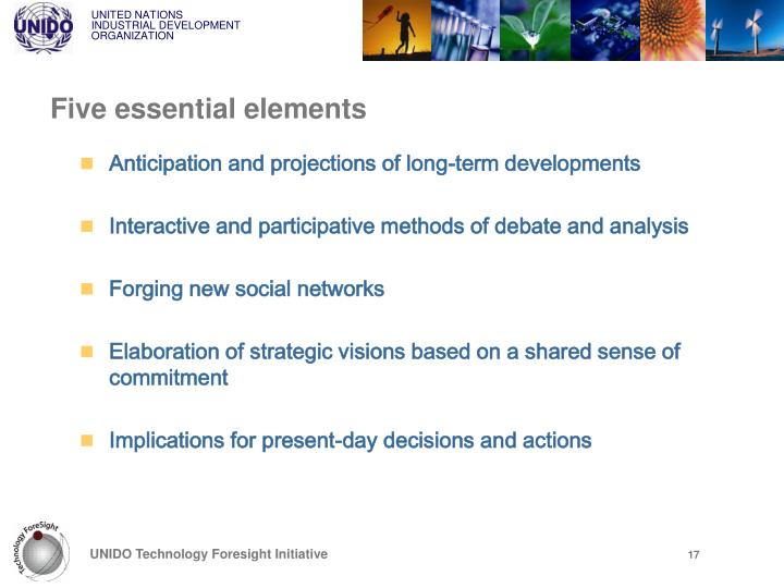 Five essential elements