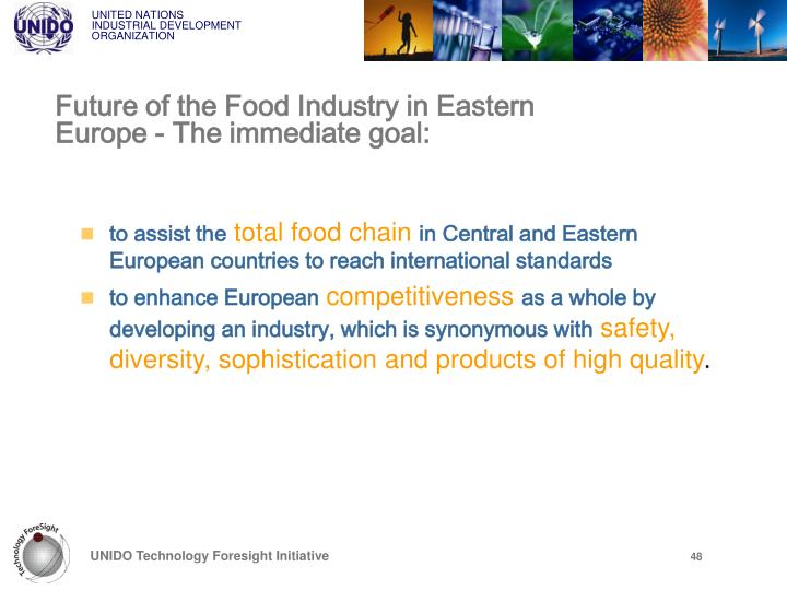 Future of the Food Industry in Eastern Europe -