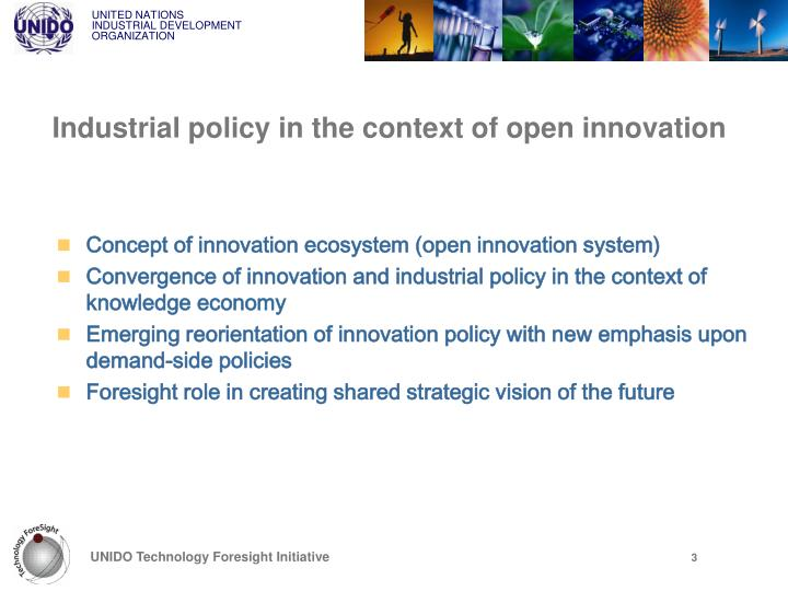 Industrial policy in the context of open innovation